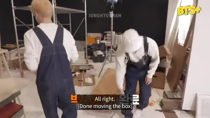 Run BTS: Behind the Scenes